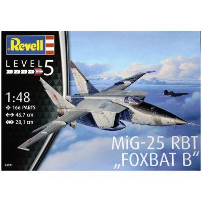 REVELL MiG-25 RBT Foxbat B 1:48 Aircraft Model Kit - 03931