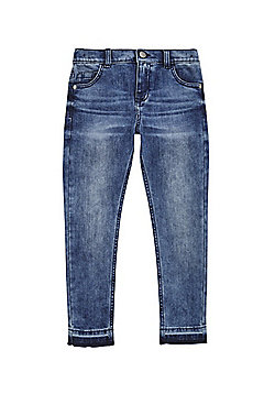 F&F Let Down Hem Jeans - Denim