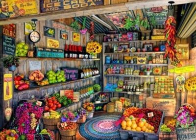 The Farmers Market - 2000pc Puzzle