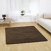 Nordic Cariboo Brown 160x230 cm Shaggy Rug