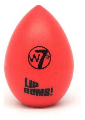 W7 Lip Bomb Fruity Flavoured Lip Balms-Raspberry