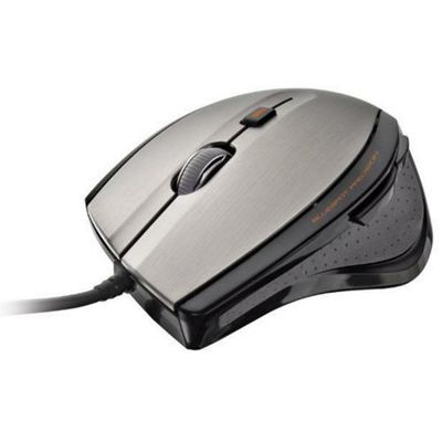Trust MaxTrack Mouse - Cable - 6 Button(s)