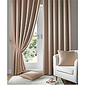 Alan Symonds Madison Pencil Pleat Curtains - Latte