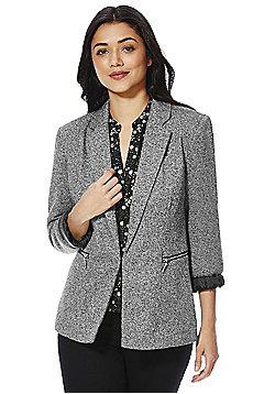 Vero Moda Knitted Blazer - Grey