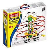 Quercetti Skyrail Roller Coaster Motorized Mini 200 Pieces