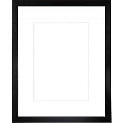 Webber Black 50x40 Frame With A White 40x30 Mount