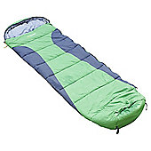 Regatta Hilo 250gsm Mummy Sleeping Bag Green