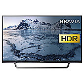 Sony KDLWE663BU  Inch Smart Full HD LED TV with HDR and Freeview HD - Black
