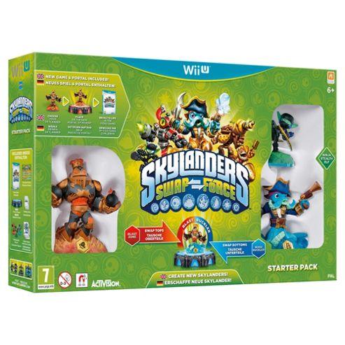 Skylanders Swap Force - Starter Pack (WiiU)