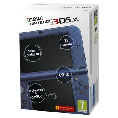 New 3DS XL Metallic Blue Console