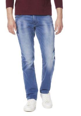 F&F Slim Stretch Jeans Mid Wash 34 Waist 34 Leg