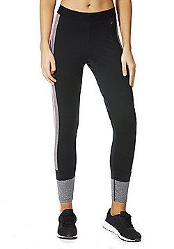 F&F Active Side Stripe Ankle Grazer Leggings - Multi