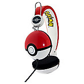 Pokemon Pokeball Tween headphones