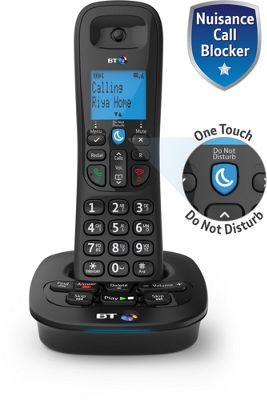 BT 3950 Single Cordless Home Phone