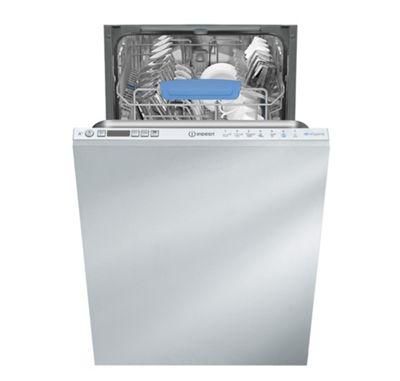 Indesit DISR 57H96 Z UK Integrated Dishwasher - White
