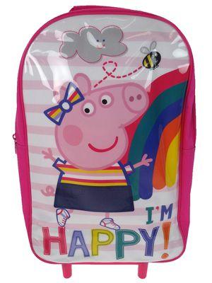 Peppa Pig Wheeled Trolley Bag