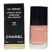 Chanel Le Vernis Peach Nail Polish 568 Tulle