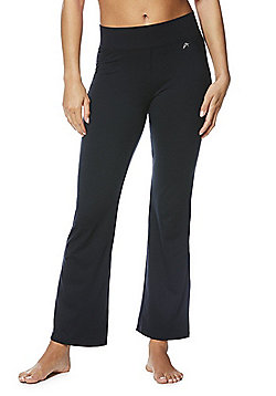 F&F Active Bootleg Yoga Pants - Black