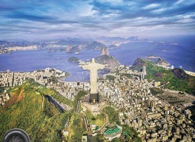 Rio De Janerio - 1000pc Puzzle