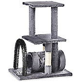 Milo & Misty Cat Tree with Scratching Arch, Hide Platforms & Self Grooming Arch