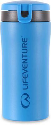 Lifeventure Flip-Top Thermal Mug - Blue