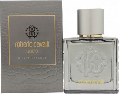 Roberto Cavalli Uomo Silver Essence Eau de Toilette (EDT) 60ml Spray For Men
