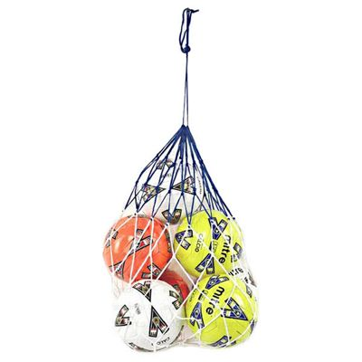 Football Soccer 5 x Ball Carry Net Bag