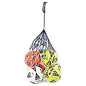 Football Soccer 5 x Ball Carry Net Bag