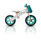 KinderKraft Runner Balance Bike (plus accessories) - Stars