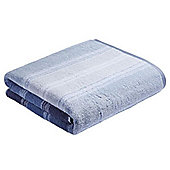 Bianca Cotton Soft Ombre Stripe Towel - Blue