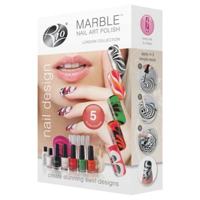 Rio MARBLE NAIL ART POLISH - LONDON COLLECTION