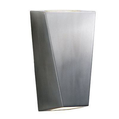 OUTDOOR & PORCH WALL LIGHT - STAINLESS STEEL 2 LIGHT - IP44