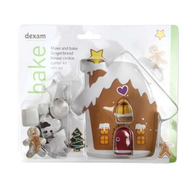 Gingerbread House Cookie Cutter Set, 10 piece