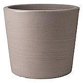 Stewart Garden Varese Low Planter - 40cm - Dark Brown (5052047)