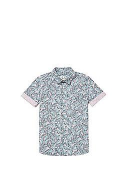 F&F Hawaiian Leaf Print Shirt - Multi