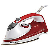 Morphy Richards Turbo 303124 Steam Iron Red