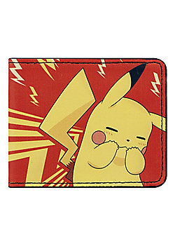 Pokemon Embarrassed Pikachu Bi-Fold Wallet