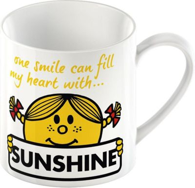 Creative Tops Little Miss Sunshine, Mr. Men Ceramic Mug 5139308