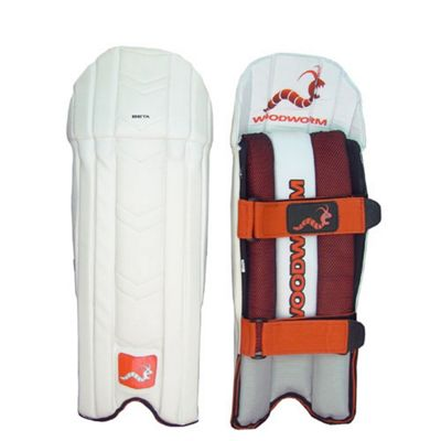 Woodworm Cricket Firewall Beta Wicket Keeping Pads Youth