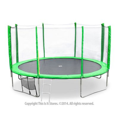 Buy Jumpstar Trampoline And Safety Net Enclosure Package From Our