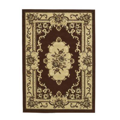 Oriental Carpets & Rugs Marakesh Brown Rug - 170cm L x 120cm W