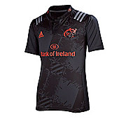adidas Juniors Munster 2015/16 Away Rugby Jersey - All Sizes Available - Grey