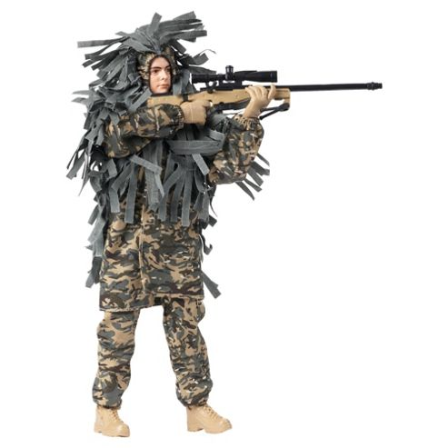 H.M Armed Forces Royal Marines Commando Sniper
