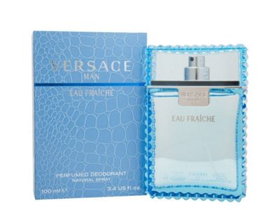 Versace Man Fraiche 100ml Deodorant Spray For Him