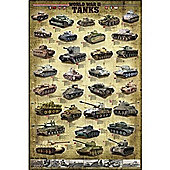World War II Tanks Puzzle