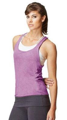 Reversible T Back Sports Top Teal-Berry-XS