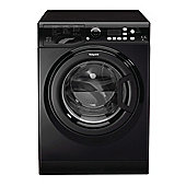 Hotpoint Futura FDL 9640 K UK, 9kg Load, Washer Dryer - Black
