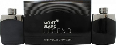 Mont Blanc Legend Gift Set 100ml EDT + 100ml Aftershave Spray For Men