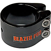 Blazer Double Collar Scooter Clamp - Black