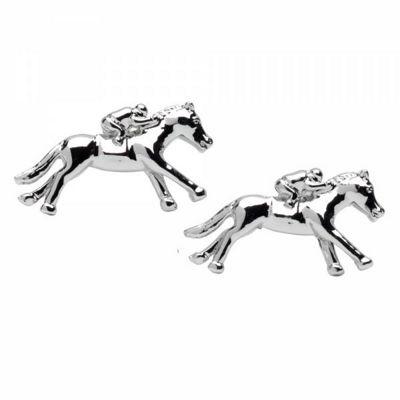 Maze Horse & Jockey Cufflinks